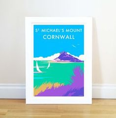 Vintage Style Poster Of St Michael's Mount