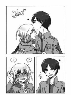 Eren X Armin, Attack On Titan, My Hero Academia, Wattpad, Funny, Cute, Anime, Random, People