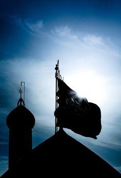 Dome of Imam Hussein in Karbala Roza Imam Hussain, Imam Hussain Karbala, Ya Hussain Wallpaper, Imam Hussain Wallpapers, Islamic Images, Islamic Pictures, Muharram Wallpaper, Karbala Iraq, Battle Of Karbala
