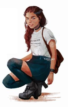 Modern Katara See more 'Avatar: The Last Airbender / The Legend of Korra' images on Know Your Meme! Avatar Airbender, Avatar Aang, Suki Avatar, Team Avatar, Zuko And Katara, Fan Art Avatar, The Legend Of Korra, Character Inspiration, Character Art