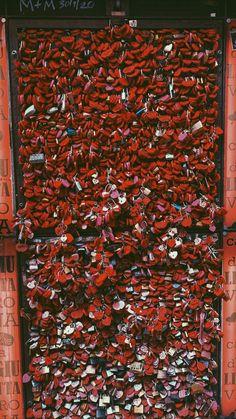 wall of love locks at romeo and juliets balcony