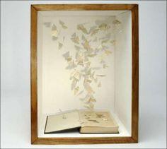 Book art by Su Blackwell