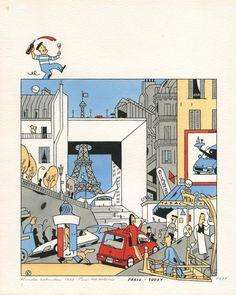 Paris - Today, Ever Meulen for Honda, 1991.