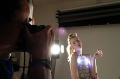 A Fashion Designer Is Creating The World's First Open-Source, 3D-Printed Dress/ Anouk Wipprecht