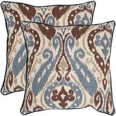 "Charlize 18"" Pillows - Set of 2 - Sofa Pillow - Couch Pillow - Throw Pillow - Toss Pillows | HomeDecorators.com"