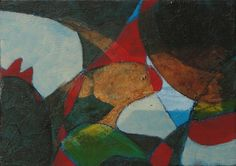 """Saatchi Art Artist Eva Hoffmann; Painting, """"CLOWN"""" #art"""