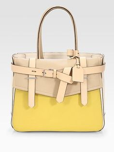 Reed Krakoff Boxer Bag. Mustard looks good on every skin tone in my opinion