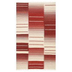 Anchor vibrant decor or define areas in an open space with thistimeless New Zealand wool rug, showcasing an abstract motif in red.   P...