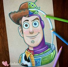 This Artist Connects Two Related Characters And Has Drawn Them Into One Amazing Shared Personality is part of Disney drawings - The amazing Disney character made by Dada looks amazing and so realistic Cute Disney Drawings, Disney Sketches, Cool Art Drawings, Art Drawings Sketches, Drawing Disney, Disney Character Drawings, Drawings Of Disney Characters, Cute Drawings Tumblr, Cute Cartoon Characters