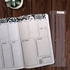 Tidy Slider™ Bullet Journal Stencil Weekly Layout Calendar for Leuchtturm Moleskine A5 Planner by Moxiedori Bullet Journal Christmas, April Bullet Journal, Bullet Journal Weekly Layout, Bullet Journal Spread, Bullet Journals, Bujo, Bullet Journal Stencils, Tombow Markers, Journal Pages