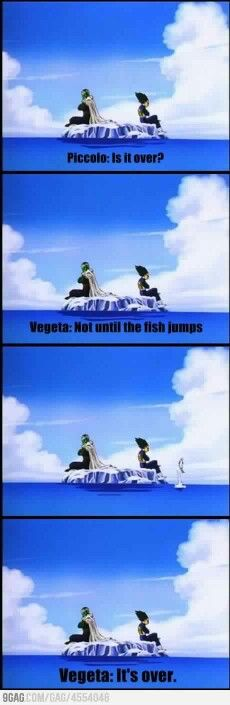 Piccolo and vegeta