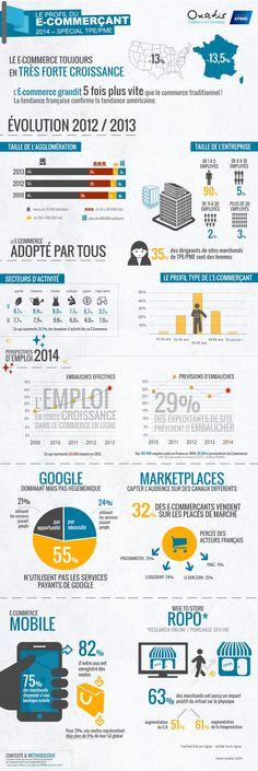 Profil type de l'e-commerçant français