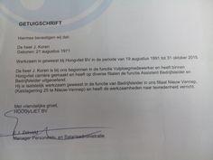 Na 24 jaar Hoogvliet op zoek naar een nieuwe wending in mijn carrière. Gesteund door Hoogvliet en met hulp van USG restart.