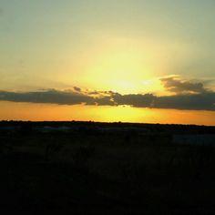 Tahlequah, Oklahoma sunset