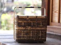 竹虎 虎斑竹専門店竹虎 ピクニックバスケット 二段弁当箱 弁当箱 ピクニック 行楽 花見 お花見 竹弁当 ランチボックス 自然素材 竹細工 bamboo lunchbox Picnicbasket Naturalmaterials TAKETORA Picnic