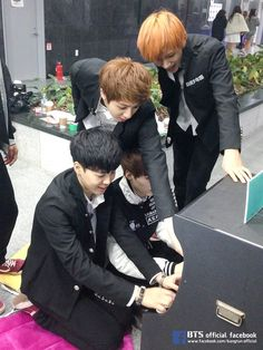 BANGTAN BOYSS and their game! HAHA