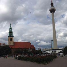 Alexandrplatz Cn Tower, Berlin, Building, Travel, Instagram, Viajes, Buildings, Destinations, Traveling