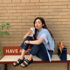 Cha Jung Won feet r/kpopfeets Korean Street Fashion, Korea Fashion, 80s Fashion, Daily Fashion, Fashion Art, Girl Fashion, Fashion Outfits, Womens Fashion, High School Fashion