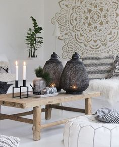 Hope you all had some lovely Christmas days with your family - xx Kirsten Ethnic Decor, Boho Home, Farmhouse Chic, Vintage Decor, Hygge, Boho Chic, Dining Table, Photo And Video, House Styles