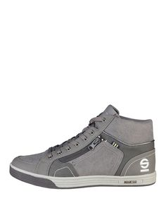 Shoes man - fall/winter collection - high sneakers with eco leather upper…