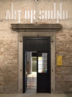 Art or Sound Branding By 2x4 for Prada Foundation exhibition in Venice