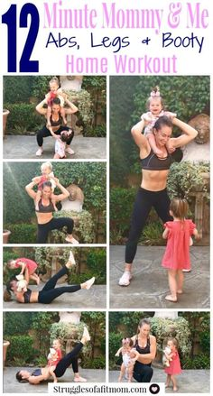 Making exercise a priority and including your kids in your home workouts is the easiest and most fun way to burn some calories! Try this 12 minute HIIT workout