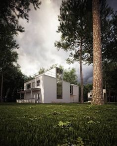 Masters Houses, Dessau Germany | Walter Gropius : Bauhaus
