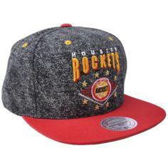 Mitchell Ness NBA Basketball Houston Rockets Diamond Marque Snapback Hat  Cap  023924bc2de2