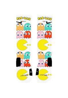 Custom Pac Man Socks Custom Nike Elite Socks or by NikkisNameGifts
