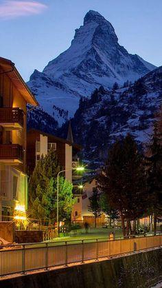 Zermatt in summer