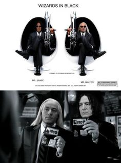 Wizards In Black... I laughed at this more than I should have...