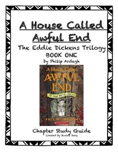 This product is a comprehensive chapter-by-chapter study guide for Book One of the Eddie Dickens Trilogy series, A House Called Awful End.  Each chapter guide has a variety of reading comprehension questions (with page numbers for most chapters to direct students back to the book), making personal connections and vocabulary.I hope you find this resource useful!Please check out some of my other book studies:Boston Jane Novel Study GuideAdventures of Huckleberry Finn Worksheets & Assignment...