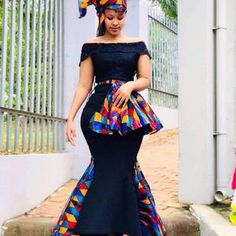 Shweshwe Dresses, African Maxi Dresses, Latest African Fashion Dresses, African Dresses For Women, African Print Fashion, Ankara Gowns, Africa Fashion, African Women, Ankara Fashion