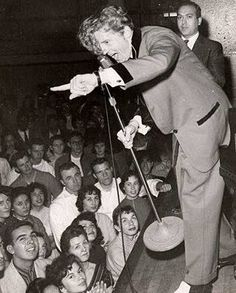 Jerry Lee Lewis wows 'em in the mid 50's