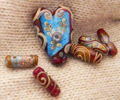 Fire-Imp Lampwork Beads