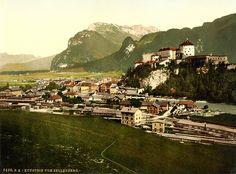 Kufstein, Tyrol, Austria-Hungary, ca. 1895 by trialsanderrors, via Flickr