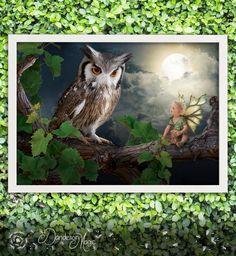 Horned Owl Fairy