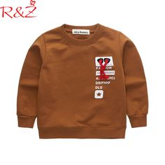 R&Z Baby Boys Clothes 2018 New Spring Cotton Tops Cool Letter Red Belt Color Longsleeve T-shirts for Kids Children's Clothing //Price: $16.83 // #kids