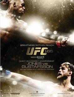 Update: UFC 165: Jones vs. Gustafsson Fightcard