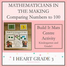 Mathematicians in the Making: Build It Mats Centre Activities Teaching Math, Math Math, Math Fractions, Creative Teaching, Math Games, Activity Centers, Math Centers, Special Education Classroom, Math Education