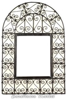 Moroccan Wrought Iron Window Grill - Picture Frame? Iron Window Grill, Iron Windows, Moorish, Moroccan Style, My Dream Home, Wrought Iron, Design Elements, Picture Frames, Wall Decor