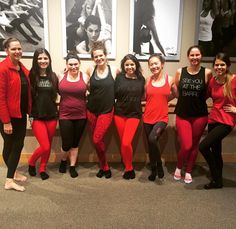 Thanks to our early morning rockstars for showing their support for Go Red For Women with the American Heart Association!  #purebarre #purebarreberkeley #goredforwomen by purebarreberkeley