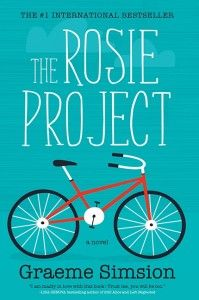 The Rosie Project written by Graeme Simsion. I gobbled up this charming, funny, quirky book, it was a delight to devour! The Rosie Project was one of my favorites of Book Club Books, Good Books, The Book, My Books, Books To Read, Book Log, Harper Lee, Atticus, Reading Lists