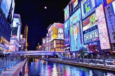 Osaka© iStockphoto  Levendige moderne stad die bekendstaat om de goede restaurants, nachtleven en neonlichten.