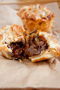 Beef Pies......These are amazing! I used stew meat instead of beef shin and they were scrumtious!