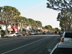 Larchmont Village.. cute, cozy, shops, and restaurants and of course Crumbs Bakery.. Los Angeles, CA