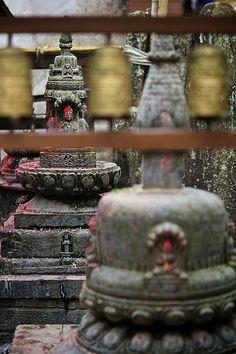 Namobuddha temple . Katmandu Valley . Nepal