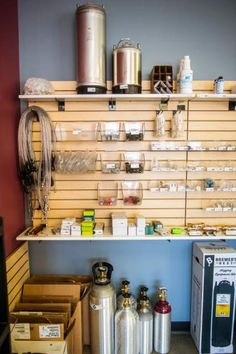 organizing brewing supplies - Google Search