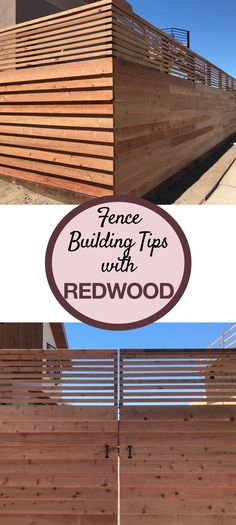 Redwood fences can provide privacy, protect children and pets, or add the finishing touch to a beautiful outdoor living space. There are as many options for building the perfect redwood fence as there is imagination. Backyard Retreat, Backyard Patio, Backyard Landscaping, Fence Design, Garden Design, Redwood Fence, Backyard Pool Designs, Building A Fence, Spanish House