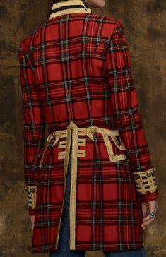 Ralph Lauren - Tartan Officer's Jacket